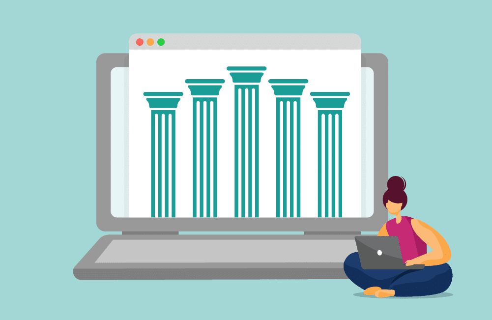 CareerStep's approach to online learning centers on these five pillars